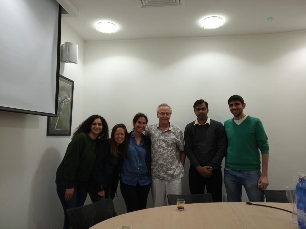 Roberto Kolter visit